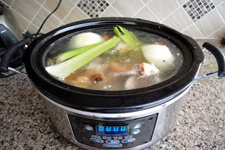 Slow Cooker Chicken Stock | Healthy Food | Pinterest