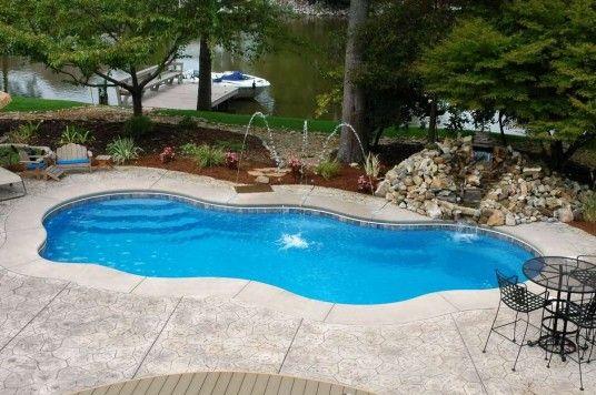 Beautiful Backyard Pool Inground Pools Pinterest