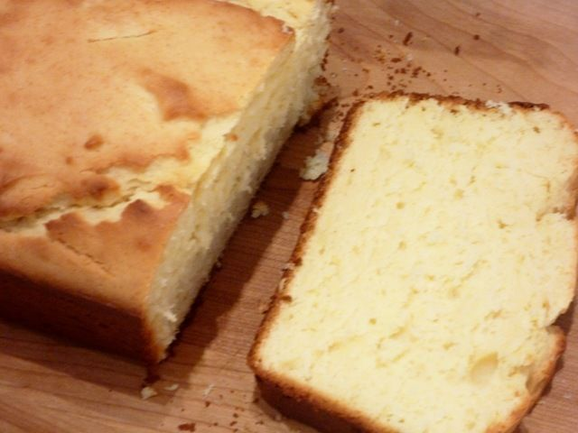 Lighter Lemon Pound Cake (easy and low fat!) | For my tummy ...