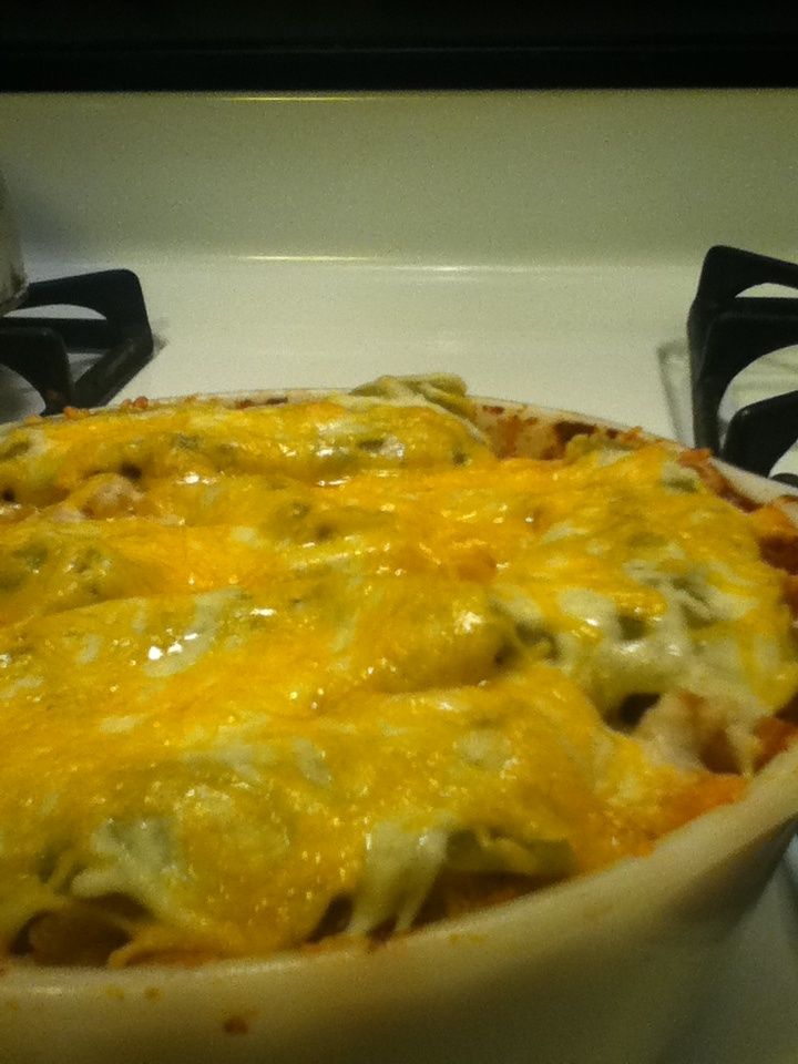 Baked Green Chile Macaroni and Cheese | Much to do about Vittle | Pin ...