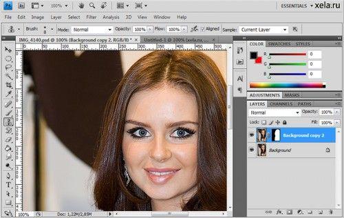 Как сделать идеальную кожу в фотошоп
