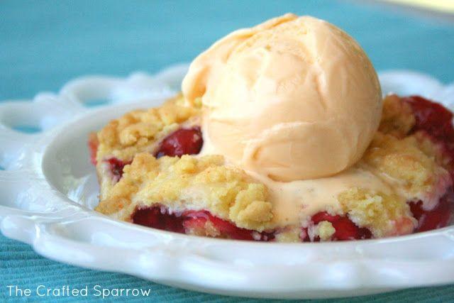 Cherry Cobbler | Sweets | Pinterest