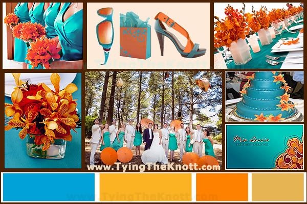 Fall Weddings: Combine Autumn & Jewel Tone Wedding Colors - TyingTheKnott.com Wedding Network