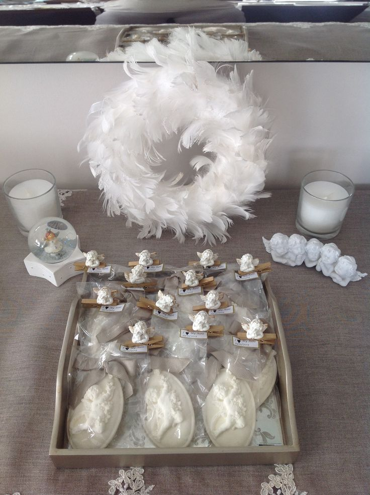 by on baby shower angel theme inspirations