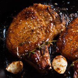 Bloggers Cook Bon Appetit's Favorite Pan-Roasted Brined Pork Chops