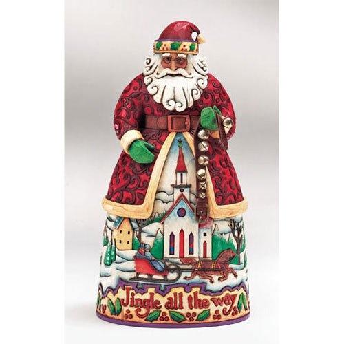 $40.50 Jim Shore Santa With Jingle Bells - Bells On Bobtail Ring  From Jim Shore   Get it here: astore.amazon.com...