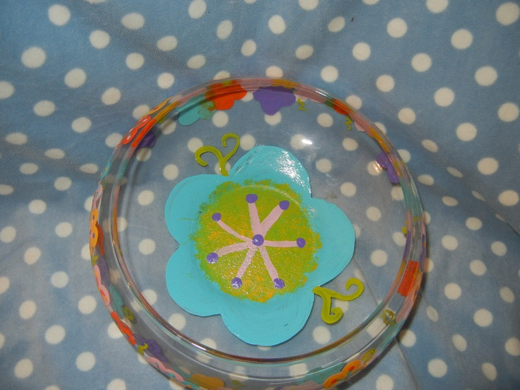 Flower dish by jennls83 on etsy diy crafts for How to sell crafts on etsy