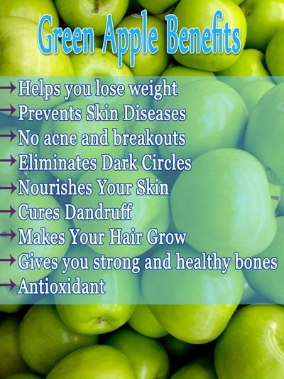 Green Apple Benefits for Skin, Hair and Health..