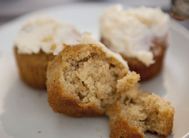 spiced parsnip muffins | get baked | Pinterest