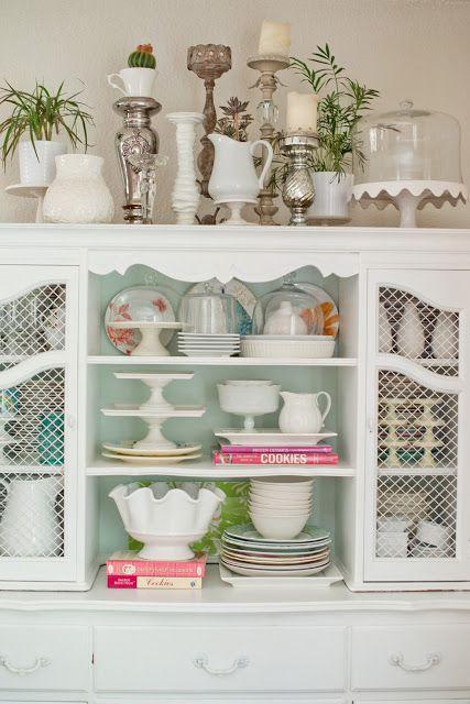 Tips for Styling Shelves
