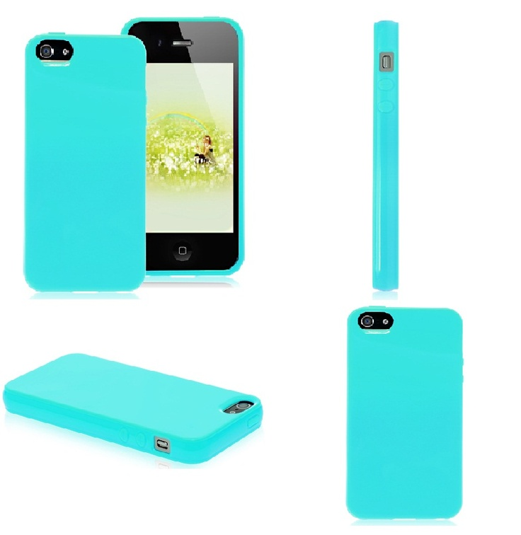 Get Colorful iPhone 4/4S/5 Cases - Turquoise iPhone 4 case