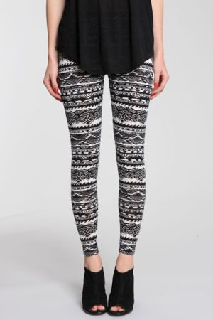 Love Aztec leggings