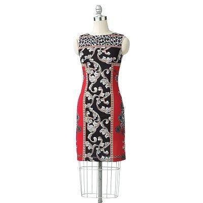 ab studio animal sheath dress cheap dresses pinterest