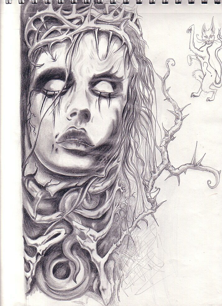 Drawing inspiration dead girl dark female drawings for What to draw inspiration