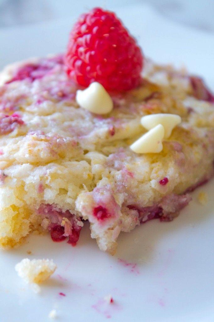 Raspberry White Chocolate Scones Recipe — Dishmaps