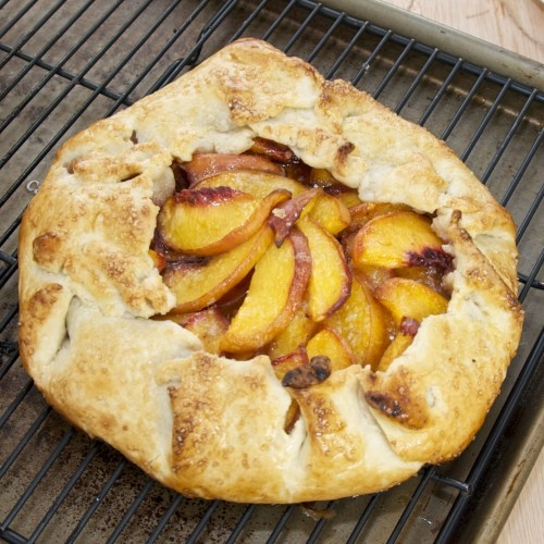 Peach Galette | Recipe
