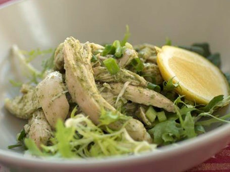 Ginger-Scallion Chicken Breasts Baked In Parchment Recipe ...