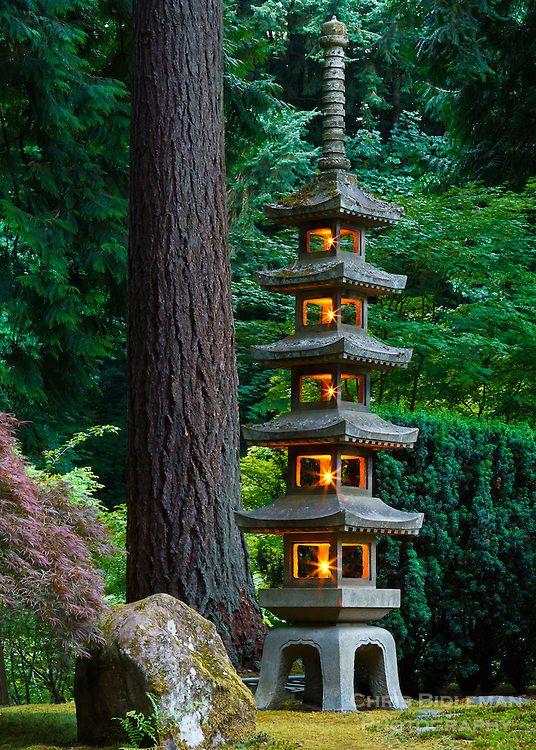 Pin by katrina on hardscape pinterest for Japanese landscape lanterns