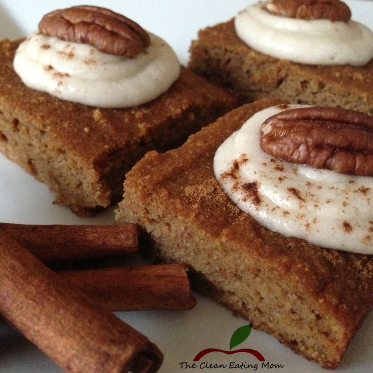 Paleo Pumpkin Gingerbread Cake With Maple-Vanilla Frosting Recipe ...