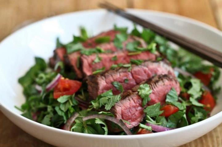 Thai beef salad recipe | HelloFresh Recipes | Pinterest