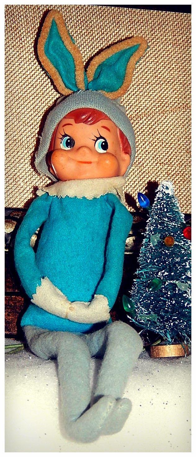 Blue Elf On A Shelf Christmas Amp Winter Pinterest