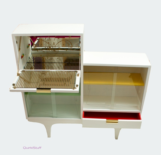 Upcycled cocktail cabinet mobel design pinterest for Upcycled kitchen cabinets