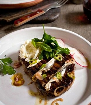 Roasted Radishes With Anchovies Recipe — Dishmaps