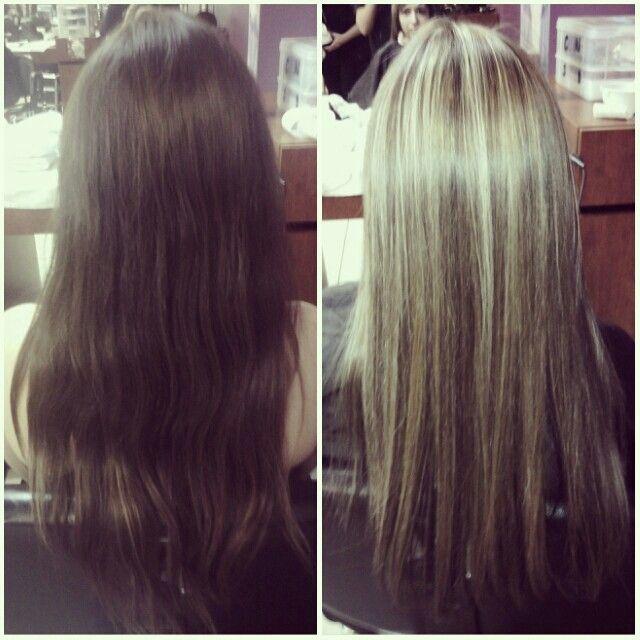 Full head highlights | Hair/Beauty | Pinterest