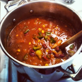 Chipotle Chocolate Chili (recommended by Stephanie)