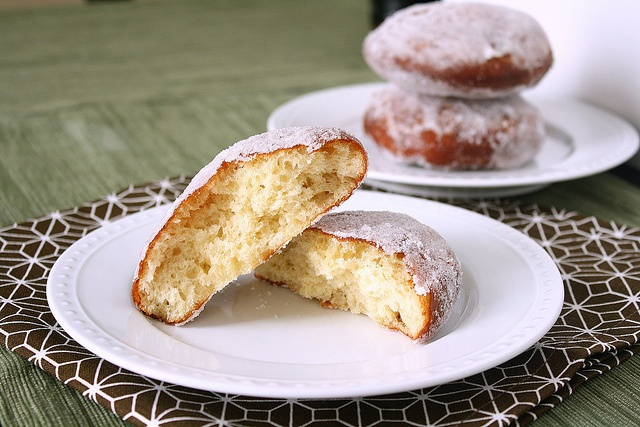 Vanilla Cream-Filled Doughnuts by Tracey's Culinary Adventures, via ...