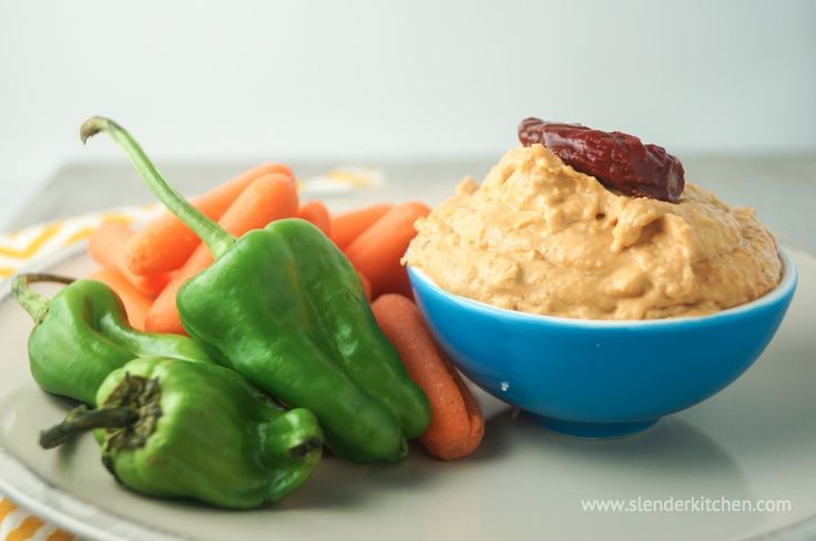 Chipotle Hummus | Slender Kitchen