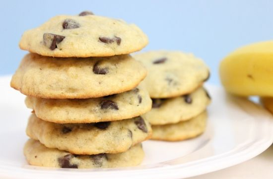 Banana Chocolate Chip Cookies | Recipe
