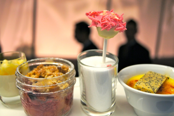 ... Pie; Raspberry Cheesecake Lollipops; Duck Creme Brûlée Lemon Poppy