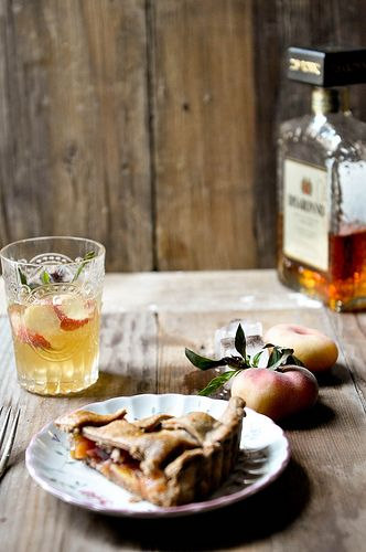 Peach Lattice Pie | yummy | Pinterest