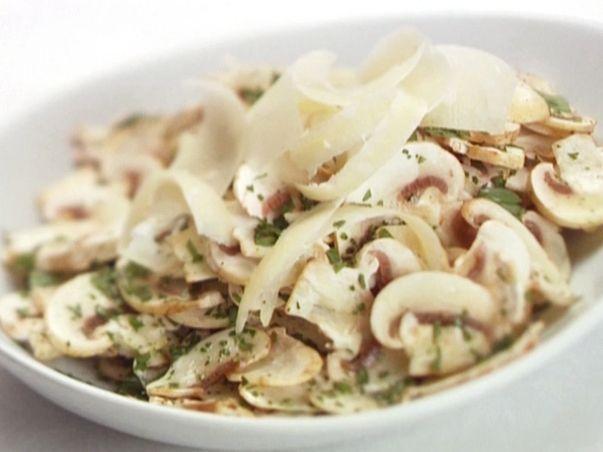 Paris Mushroom Salad With Lemon, Parsley, And Parmesan Recipes ...