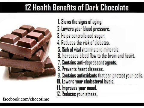 benefits of eating chocolate Dark chocolate side effects even though dark chocolate has received plenty of positive media coverage for its multiple health benefits, experts urge that before overindulging in this treat, or for doctors to use it in any type of therapy or prescription, more research is needed.