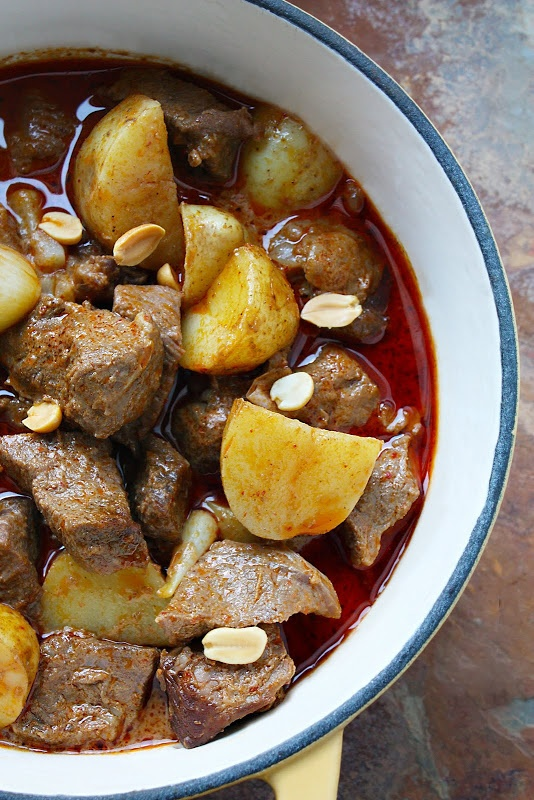 Thai beef curry - Massaman curry | Asian | Pinterest