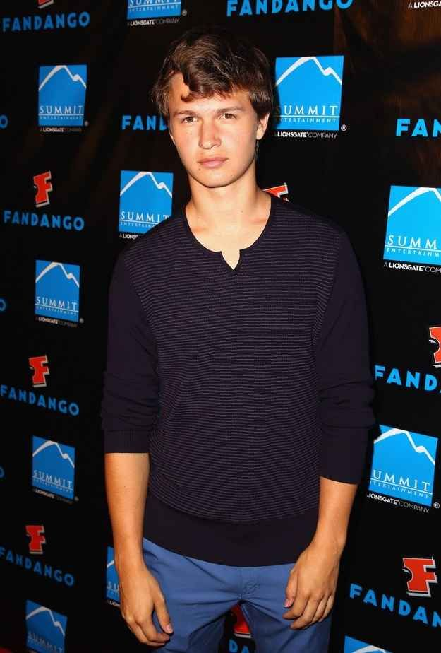 Moving on though, because there's so much more to learn about Ansel. | For Everyone That Realizes Just How Insanely Perfect Ansel Elgort Is