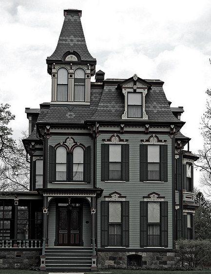 Gothic Revival Victorian Home Dream Homes Pinterest