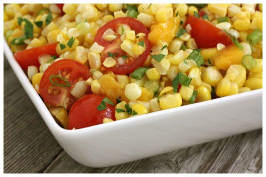 Sweet Corn Salad – Fresh from the Farmers' Market » a farmgirl's ...