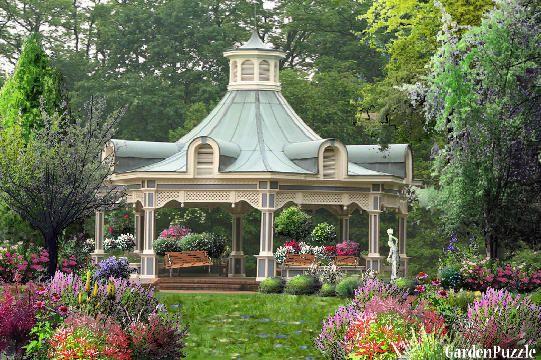 Victorian Backyard Structures : Victorian Gazebo  Garden Structures  Pinterest