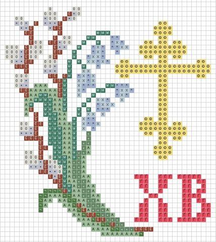 Www крест схемы вышивки 78