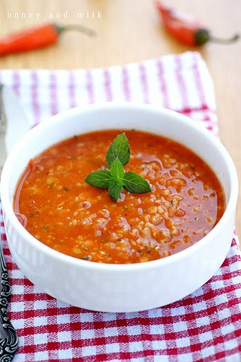 Turkish lentil soup with mint | Soups of the world | Pinterest