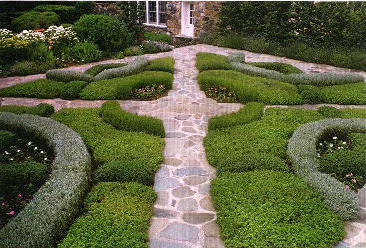 26 marvellous knot garden design ideas for Knot garden design ideas