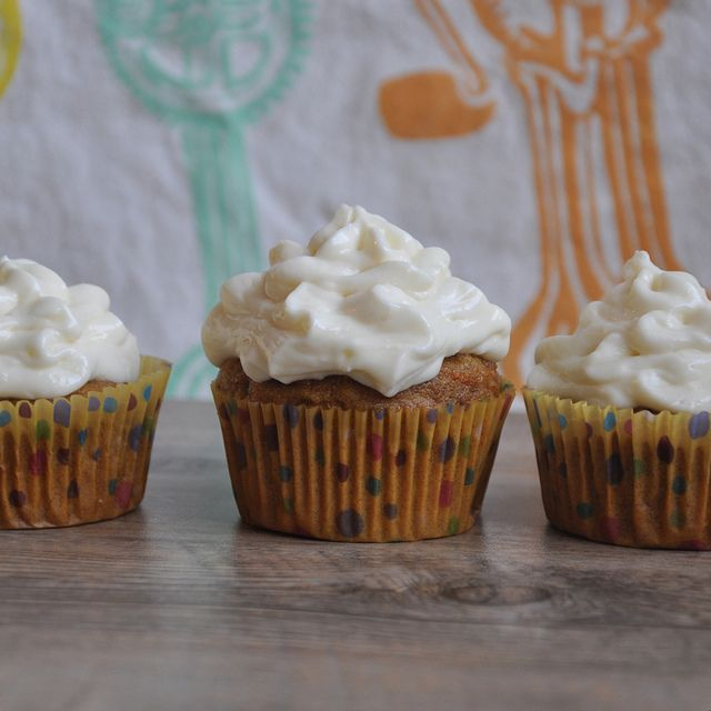 Spelt and carrot-ginger cupcakes | Foodstuff | Breads & Cakes | Pinte ...