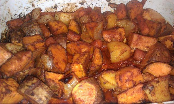 Roasted sweet potatoes | recipes | Pinterest