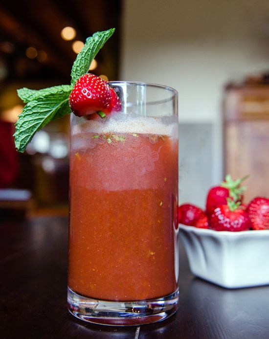 Savory Sight: Strawberry Basil Mint Lemonade