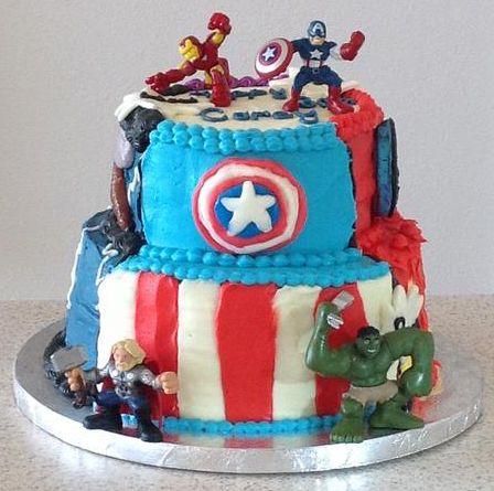 Avengers cake Cakes Pinterest