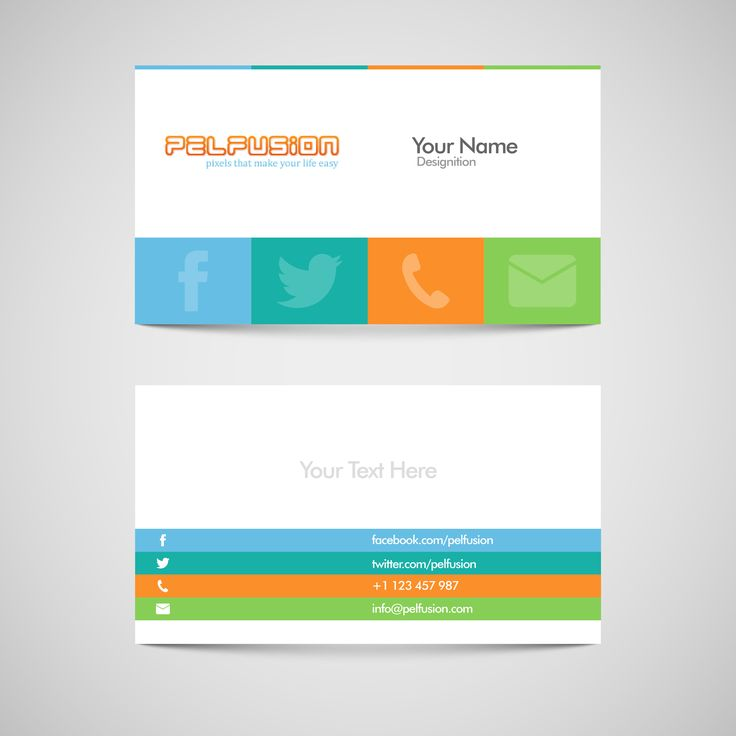 Social Media Business Card Resources Freebies