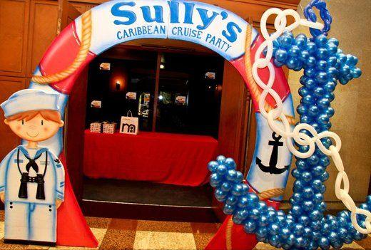 NauticalCruise Ship Birthday Party Ideas